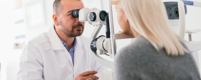 eye injury claim